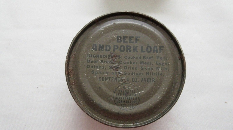 Can, beef and pork loaf